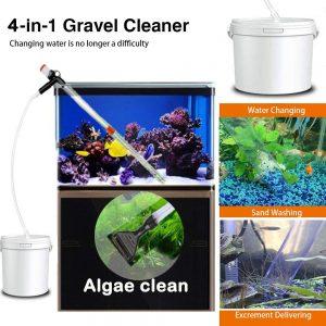 4 in1 Aquarium Gravel Cleaner