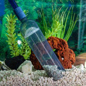 8 Foot Long Aquarium Gravel Cleaner With Mini Net