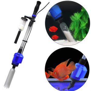 Coodia Vacuum Gravel Cleaner Automatic Aquarium Sludge Extractor Water Changer