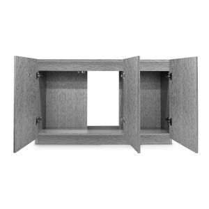 Imagitarium Brushed Steel Look Fish Tank Stand, Up To 55 Gal