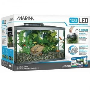 Marina LED Best 10 Gallon Fish Tank