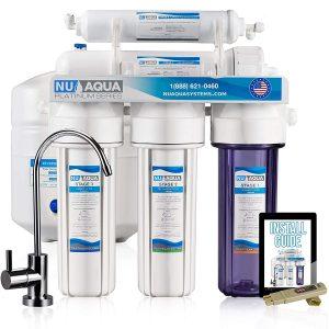 NU Aqua Platinum Series Deluxe - 5 Stage RO