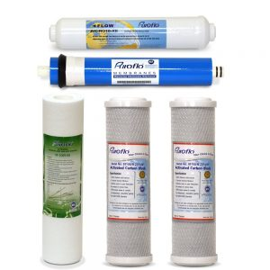 Puroflo 5pc RO Water Filter Replacement Set