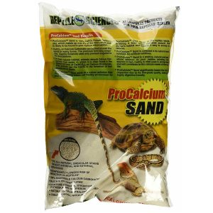 Reptile Sciences Terrarium Sand for Aquarium, 10-Pound, Natural White
