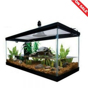 STS Supplies Reptile Habitat Setup Aquarium Tank